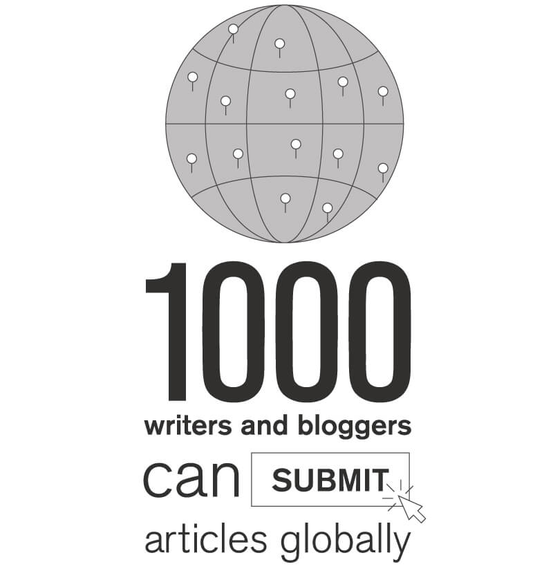 1,000 writers and bloggers can submit articles globally