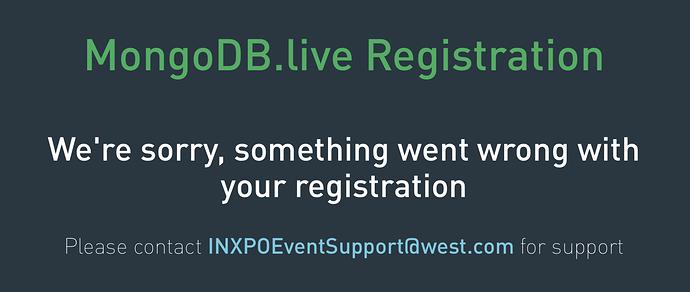 No Register for you