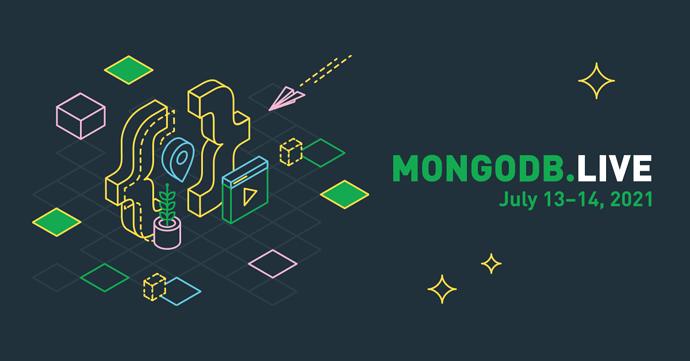 MongoDB.LIVE 2021 Banner