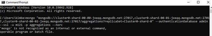 command error