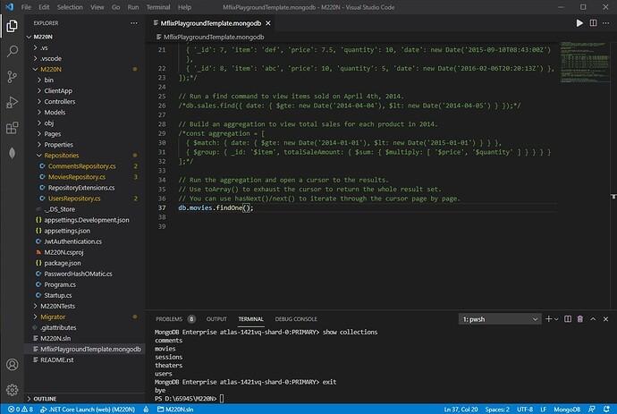 VS Code Solution Folder