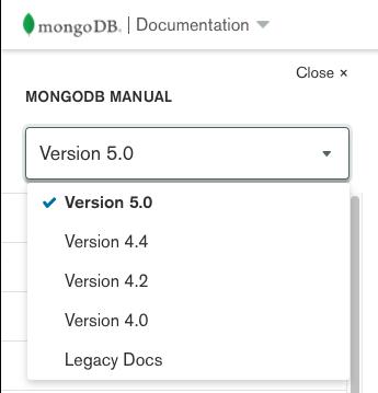 server-manual-version